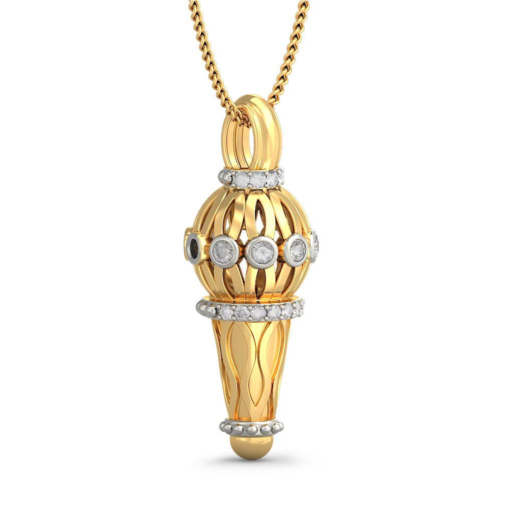 the hanuman mace pendant bluestone