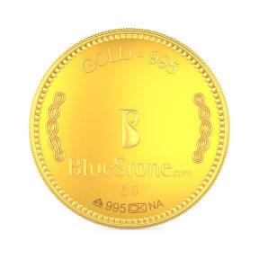 5 Gram 24 KT Gold Coin