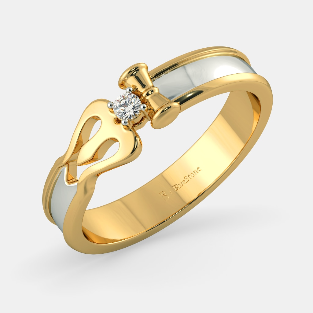 Couple Band Rings - Buy Couple Band Ring Designs Online in India ...