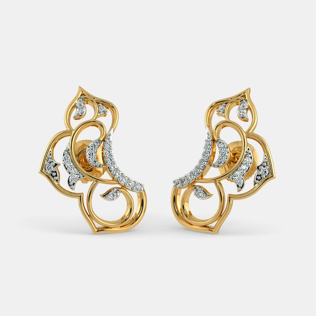 the zayra stud earrings. Black Bedroom Furniture Sets. Home Design Ideas
