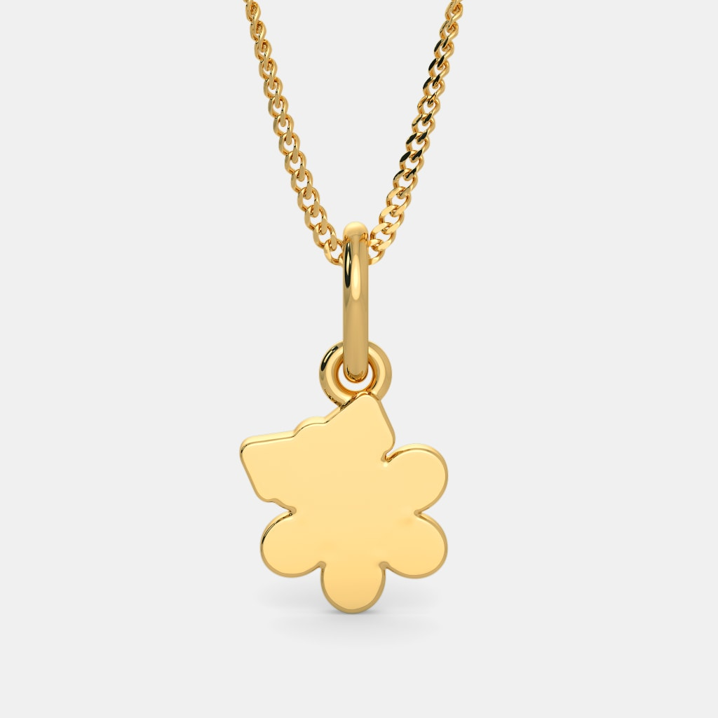 The floral princess pendant for kids bluestone the floral princess pendant for kids aloadofball Gallery