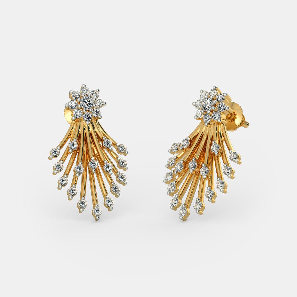 The Deepal Earrings Bluestone