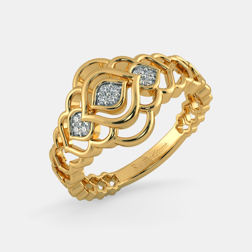 Rings - Buy 1350+ Ring Designs Online in India 2018 | BlueStone