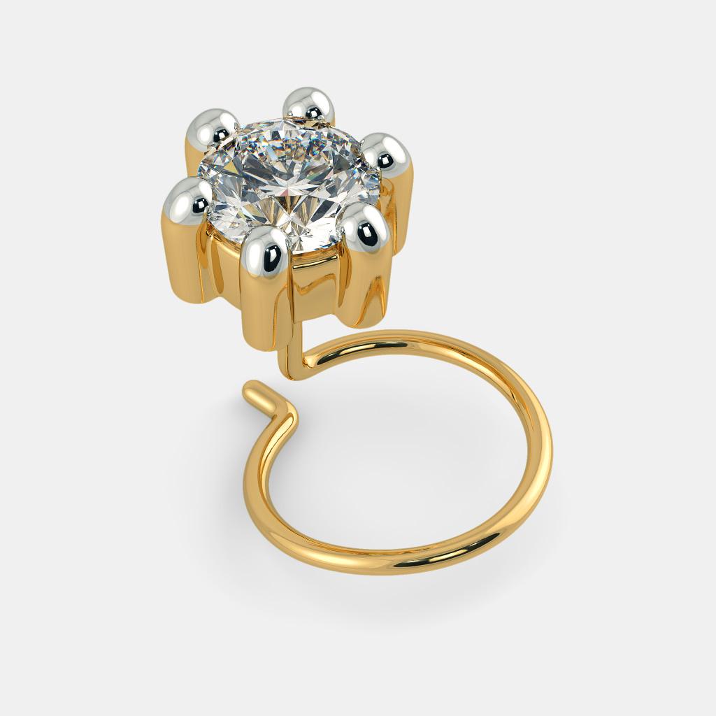 Diamond Nose Pins - Buy 50+ Diamond Nose Pin Designs Online in ...