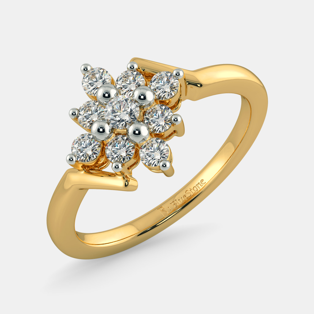 diamond promising rings platinum women wedding jewellery for the engagement