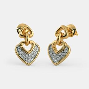 The Heartfelt Love Earrings