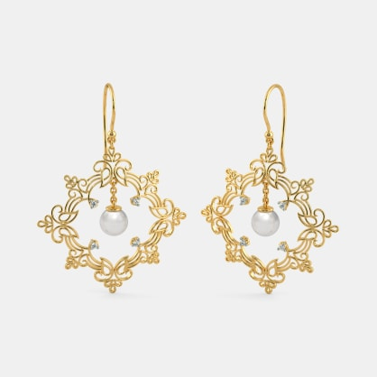 The Enclose Drop Earrings