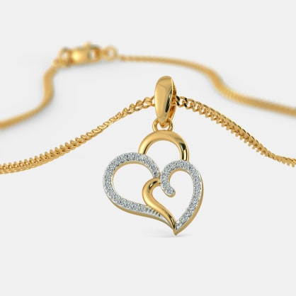 The Heart In Heart Pendant
