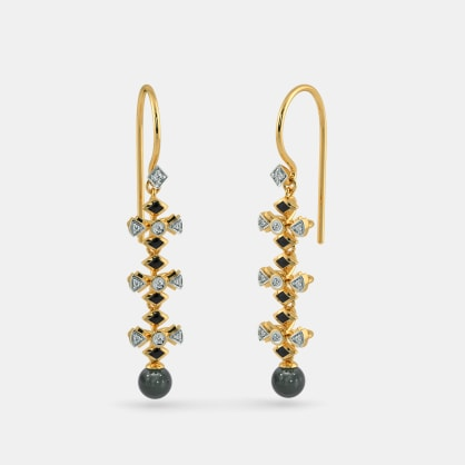 The Apogee Long Drop Earrings