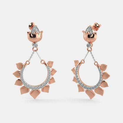 The Mysterious Lotus Earrings