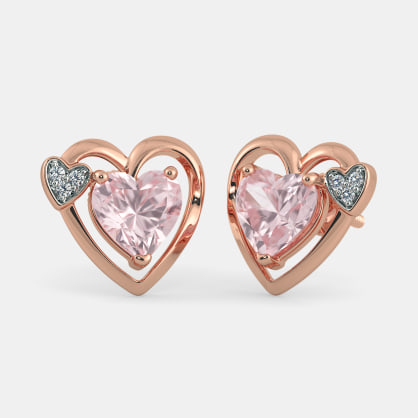 The Ruth Heart Earrings