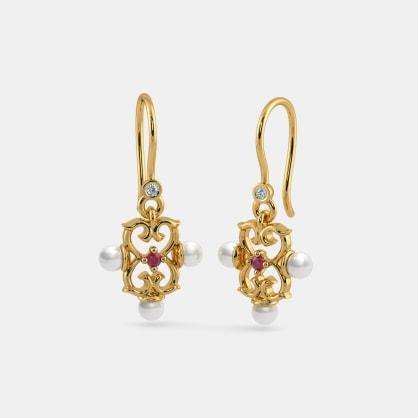 The Binary Drop Earrings