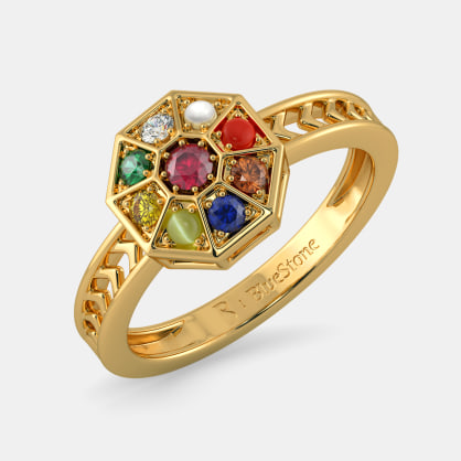 The Nav Kavach Ring