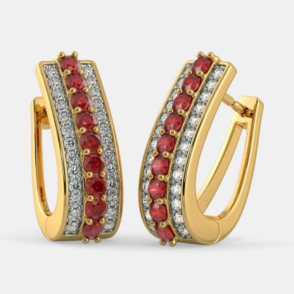 The Fashion Finesse Hoop Earrings