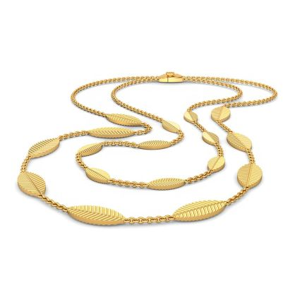 The Gold Leaf Necklace