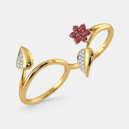 The Ainsley Two Finger Ring