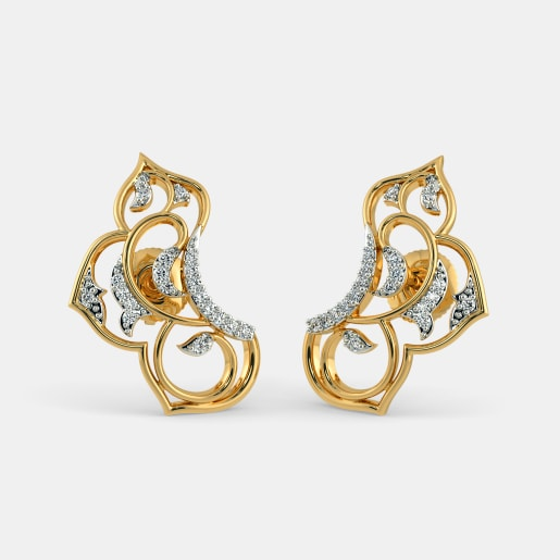 studded cubic earrings stone yellow products img viranijewelers hurricane w zirconia stud gold accents