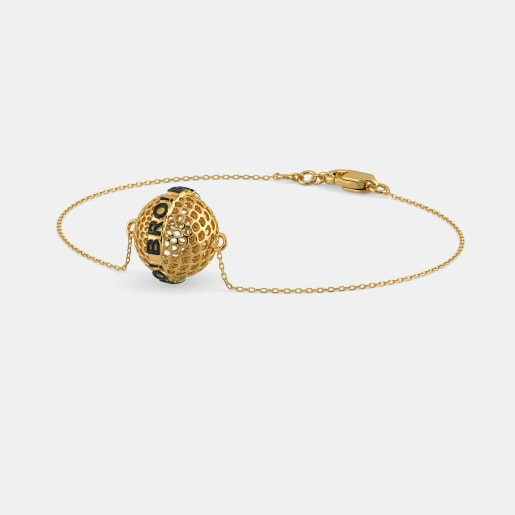 Bracelet In Yellow Gold (4.5 Gram)