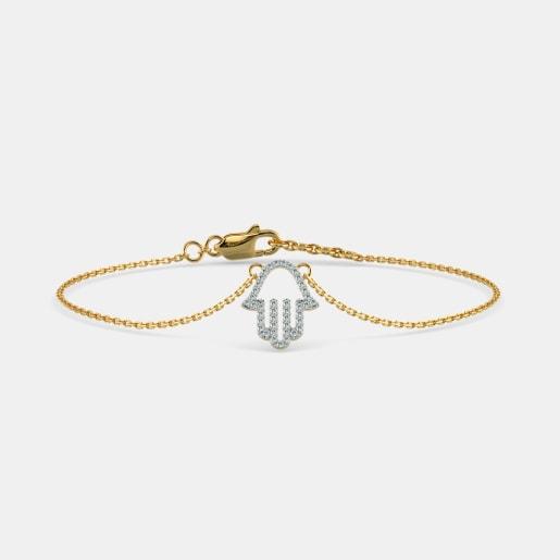 The Hamsa Hand Bracelet