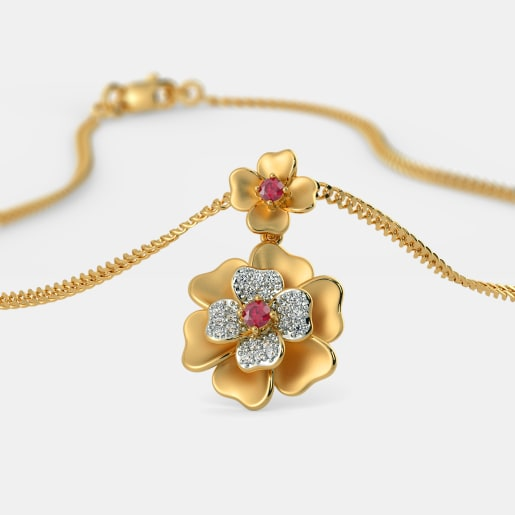 The Dainty Floral Pendant