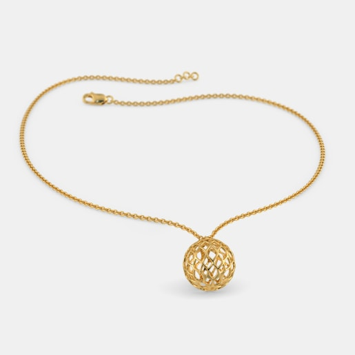 Plain gold necklaces buy plain gold necklace designs online in the shaze necklace aloadofball Choice Image