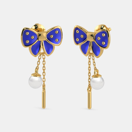 The Adorable Bow Earrings For Kids