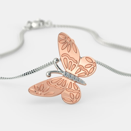 The Lorenna Butterfly Pendant