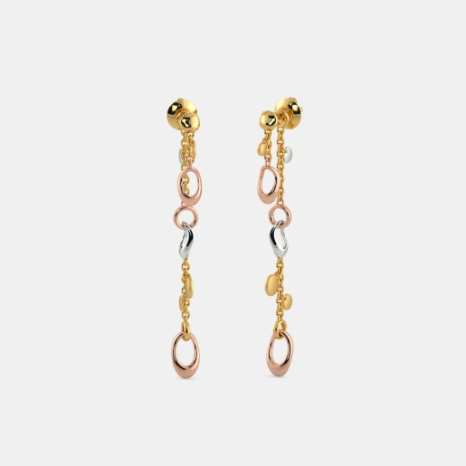 The Arwa Charmed Drop Earrings