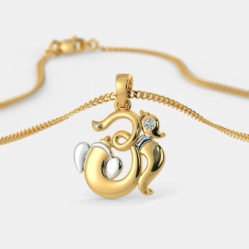 The Om Gajakarna Pendant