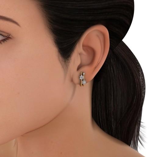 The Almas Earrings