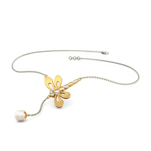 The Butterfly Line Necklace