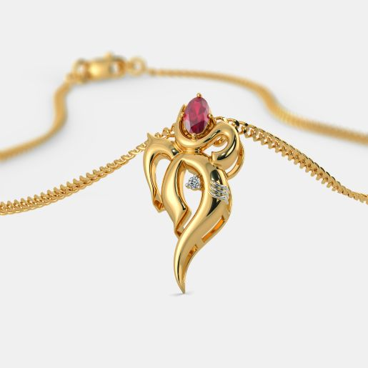 The Om Ganesha Pendant