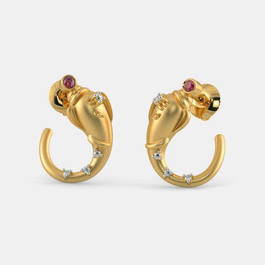 The Ekadanta Stud Earrings