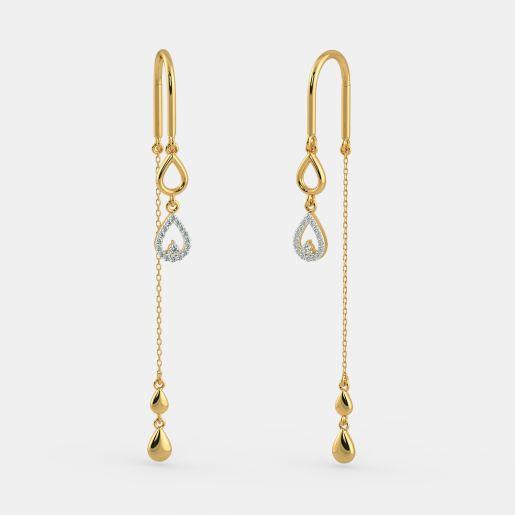 The Radiant Droplet Earrings