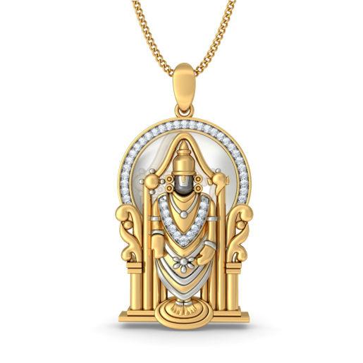 The Sri Venkateswara Pendant